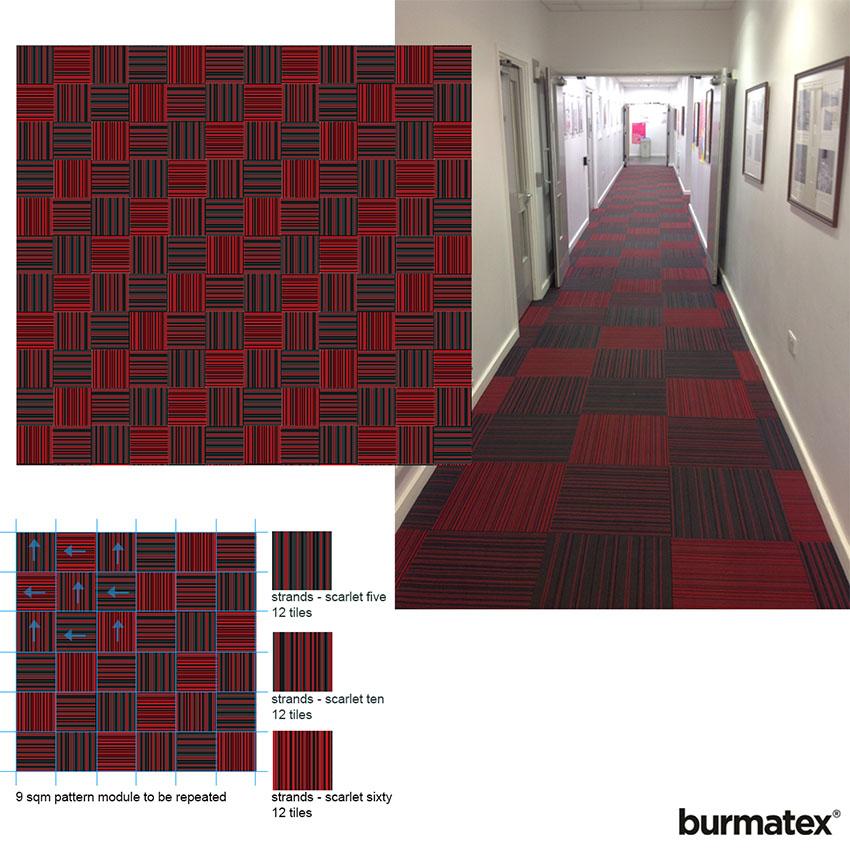 Bedford University-Repeat pattern