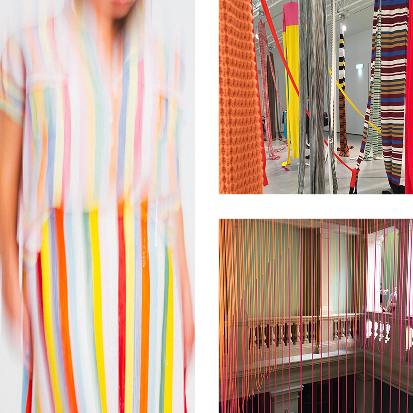 J Crew on Color Collective, J W Anderson at The Hepworth Wakefield and Studio Glithero at the V&A