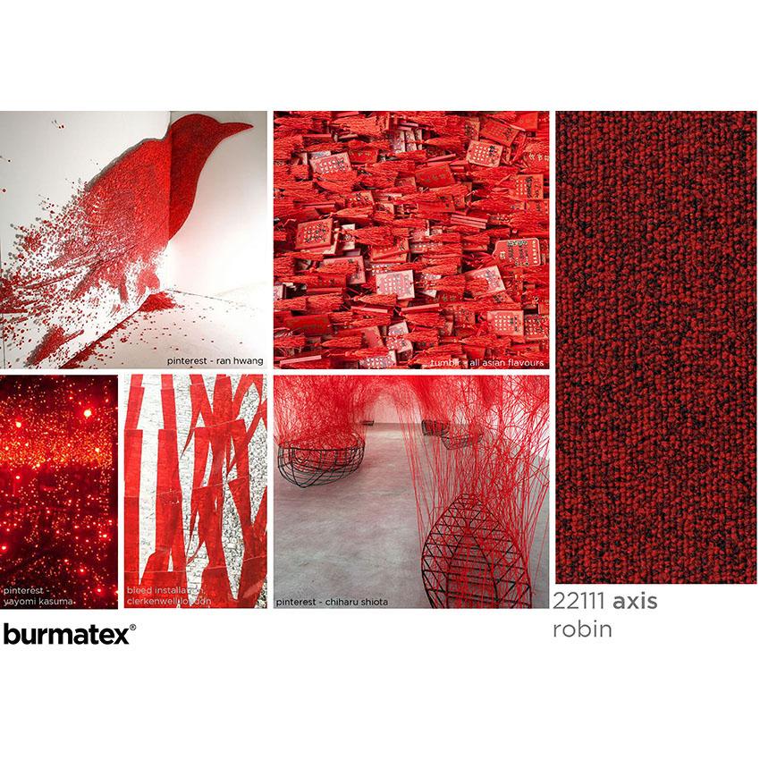inspiration images axis robin, asian flavours, yayomi kasuma, bleed installation red ribbon, ran hwang, chiharu shiota