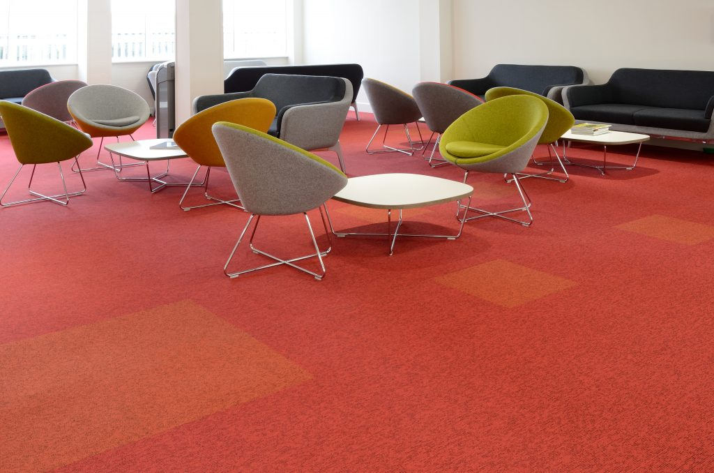 BURMATEX CARPET . A RAINBOW OF INSTALLATIONS