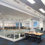 university of worcester strands balance contract carpet tiles