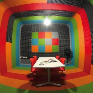 Witan showroom, Poland lateral carpet tiles
