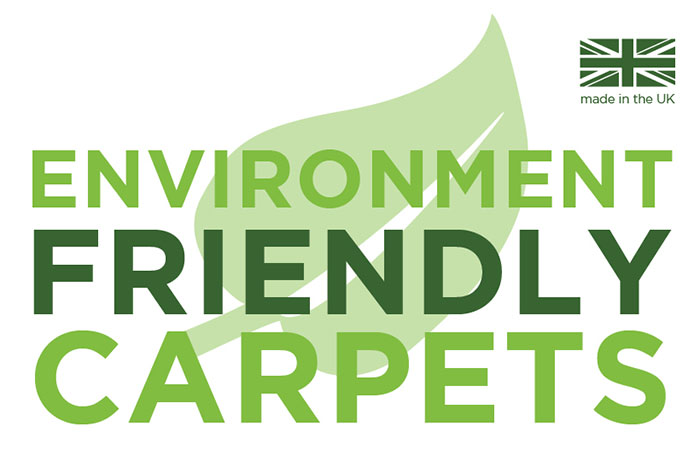 Environment friendly carpets made in the UK