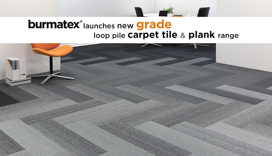 grade new carpet tile & plank range