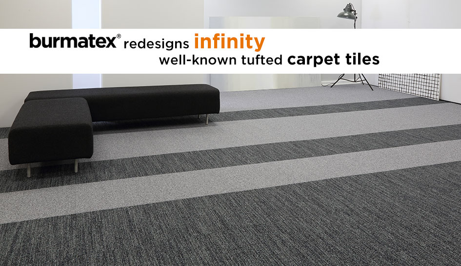 new redesigned infinity carpet tiles
