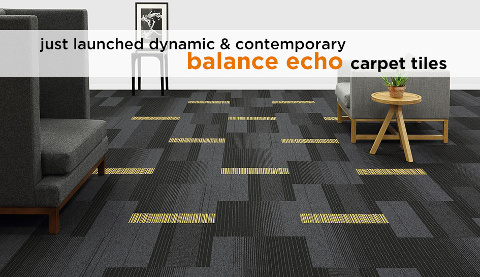 Just launched balance echo carpet tiles