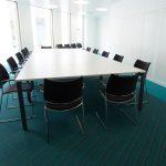 Scottish Crime Campus - carpet tiles: strands & origin