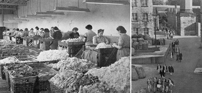 Victoria Mills in Ossett - workers