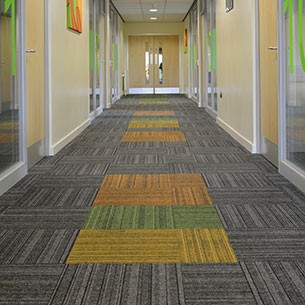 code structure bonded carpet tiles in boston college