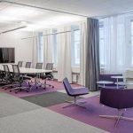 Microsoft Sweden lateral carpet tiles
