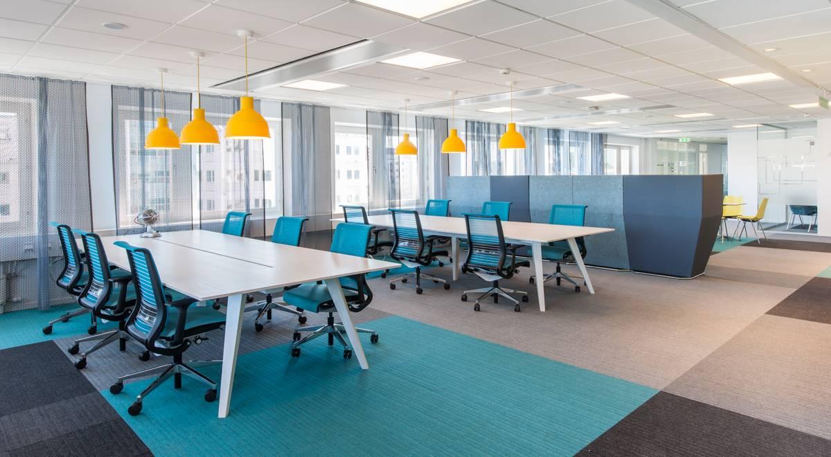 office tiles. Microsoft Sweden Lateral Carpet Tiles Office