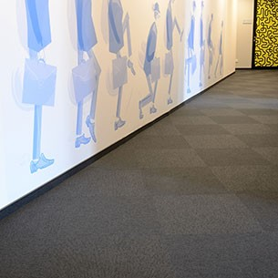 balance stripe contract carpet tiles from burmatex