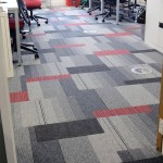 Bradford College balance atomic, lateral carpet tiles