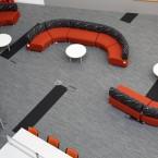 Bradford College tandem carpet tiles