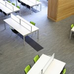 Bradford College tandem carpet tiles