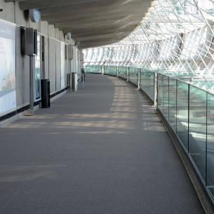 CDG airport 2014 up strands carpet tiles