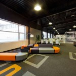 lateral® carpet tiles at Nowy Styl