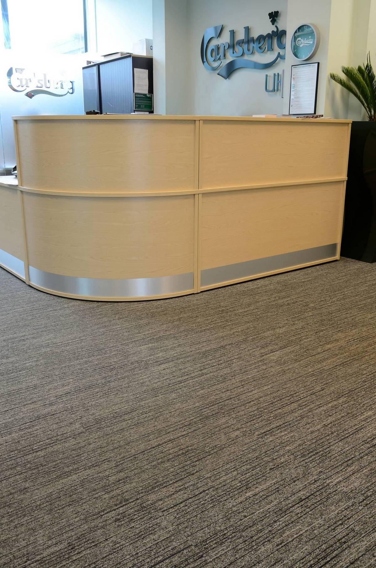 Tandem Carpet Tiles At Carlsberg Uk Burmatex