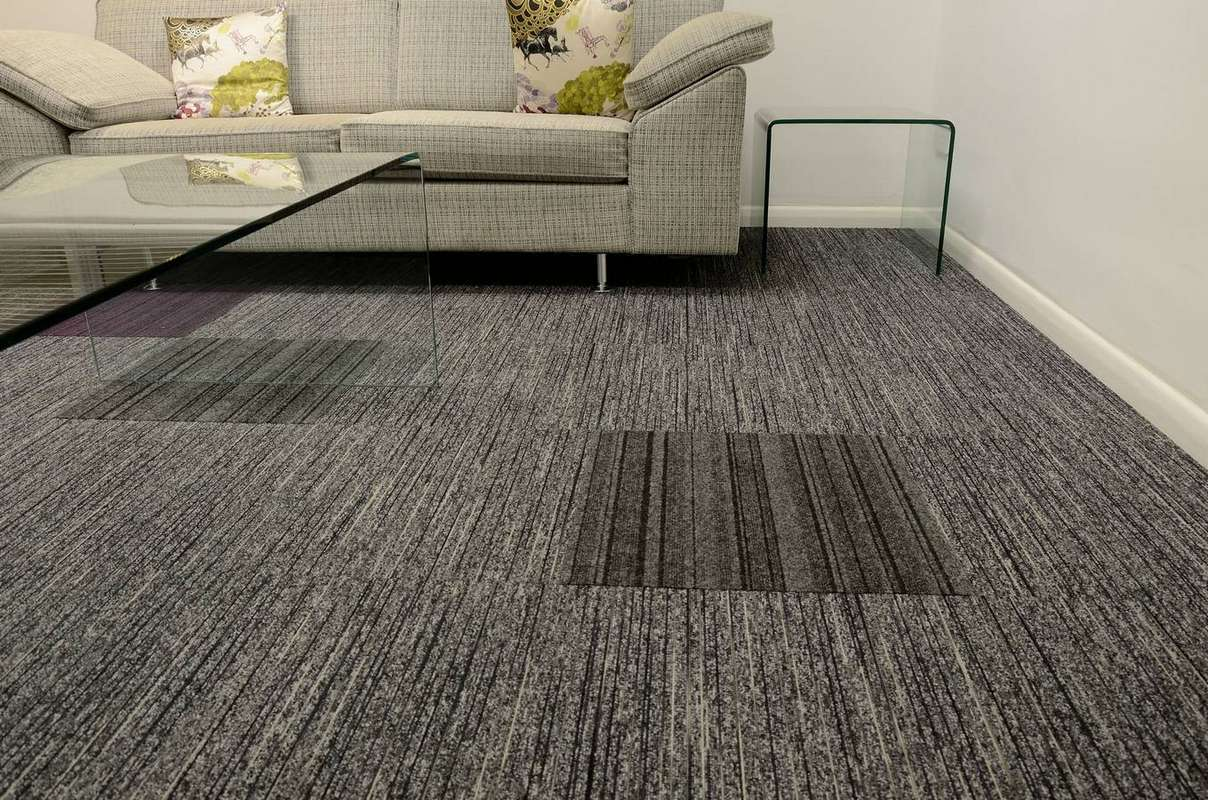 tandem contract commercial carpet tiles by burmatex