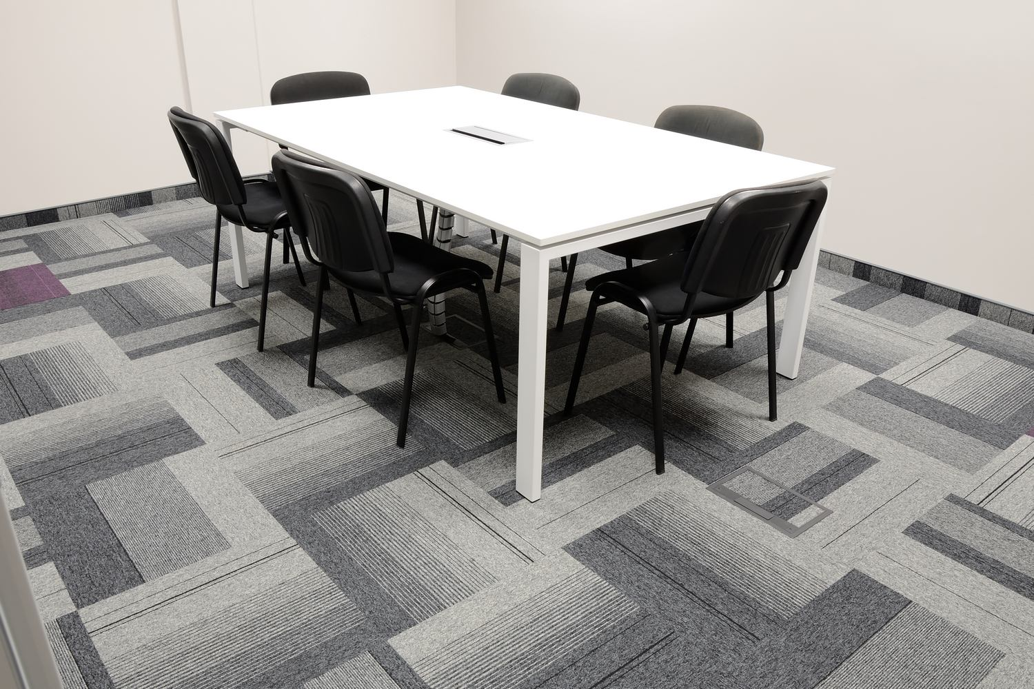 International offices create a contemporary design burmatex balance atomic loop pile carpet tiles in offices doublecrazyfo Choice Image
