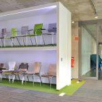 Dusseldorf lateral carpet tiles in Nowyl Showroom