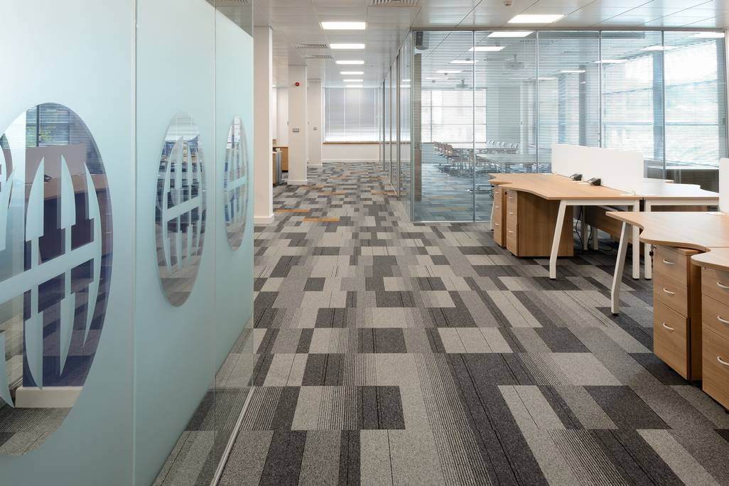 Inviting Office Interior Creates Flexible Space