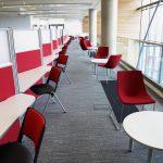 Bradford College, tandem carpet tiles
