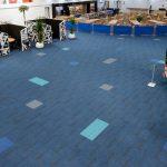 structure bonded carpet tiles at Eddie Stobart Training Centre