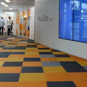 burmatex carpet tiles at Sainsbury's HQ