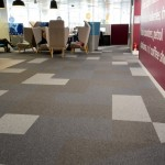 burmatex carpet tiles at Sainsbury's HQ