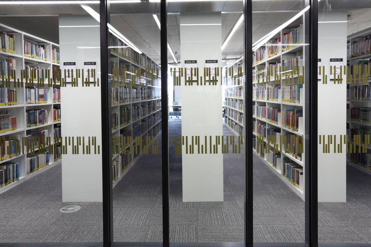 New Birmingham University Library Burmatex