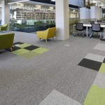 burmatex carpet tiles in Birmingham University Library