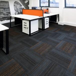 hadron carpet tiles at Quelfire offices