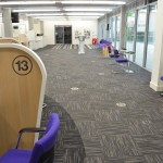 custom contract carpet tiles Wakefield One