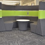custom contract carpet tiles Wakefield One