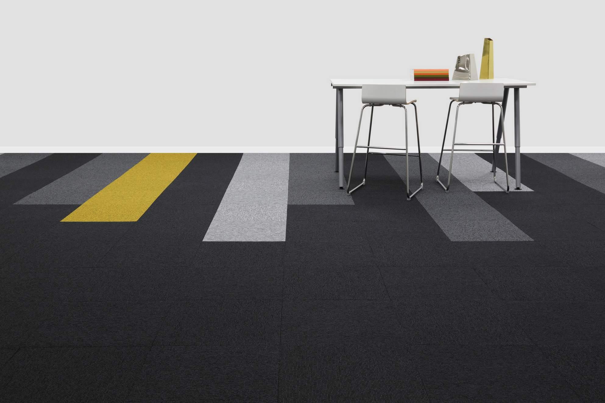 New Balance Stripe Carpet Tile Range Burmatex