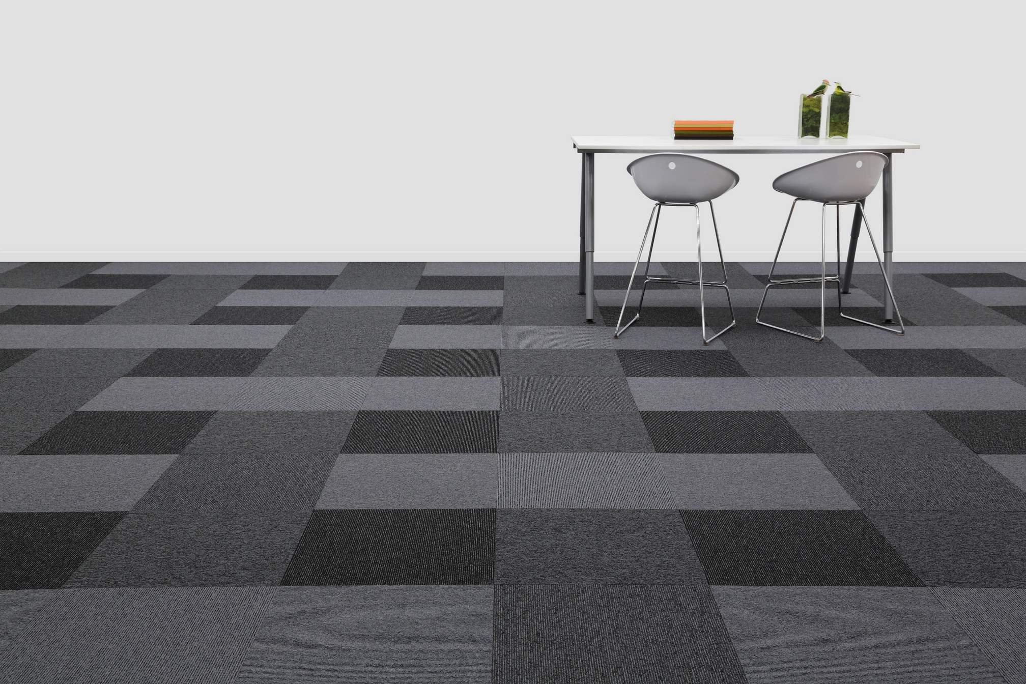 New Balance Stripe Carpet Tile Range Burmatex