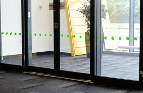 armour - performance barrier carpet tiles at Peterborough College