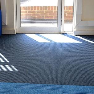 fibre bonded entrance matting - carpet tiles: grimebuster 50
