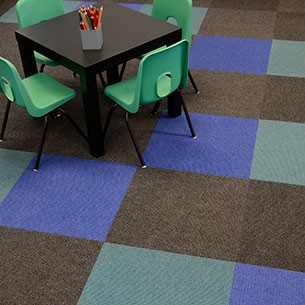 academy - fibre bonded carpet tiles
