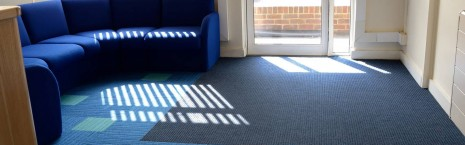 lateral® & 7700 grimebuster carpet tiles at Bevendean School