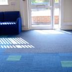 lateral® & 7700 grimebuster carpet tiles at Bevendean School