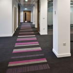 Scottish Crime Campus - carpet tiles: strands & origin