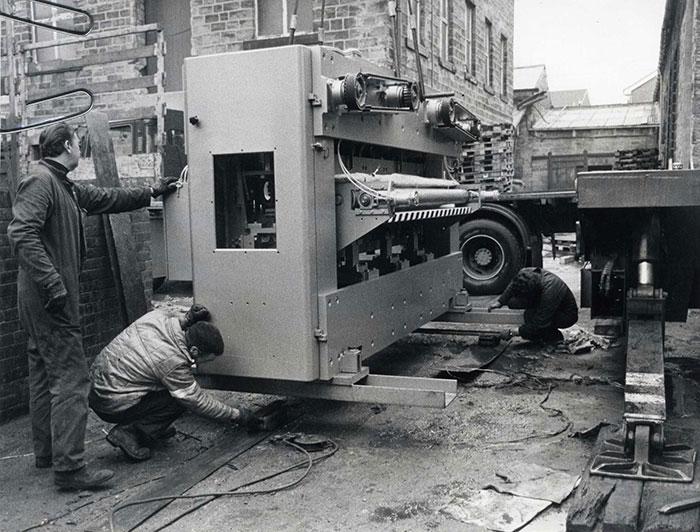 Victoria Mill Ossett - New Machine