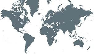 World map - burmatex export distributors