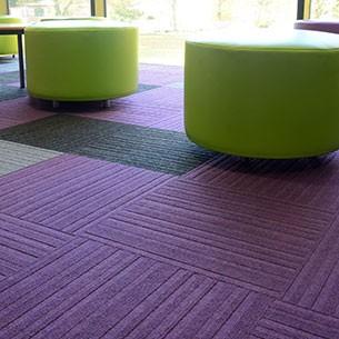 Grade Low Level Loop Contract Carpet Tiles Burmatex 174