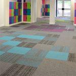 structure bonded carpet tiles - St Matthews school
