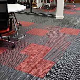 strands contract carpet tiles