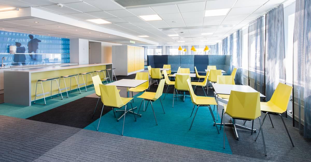 burmatex carpet tiles in sweden s best looking office 2013 burmatex