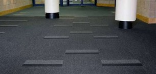 armour carpet tiles at Rothes Halls in Glenrothes